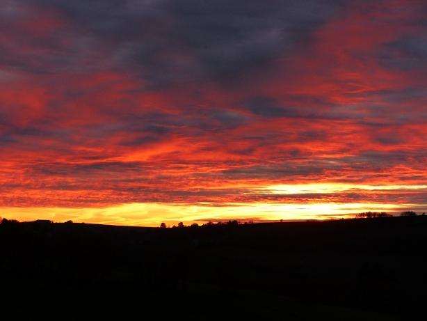 coucher de soleil tarn
